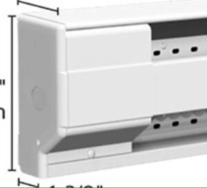 Looking for a baseboard heater receptacle plate cover