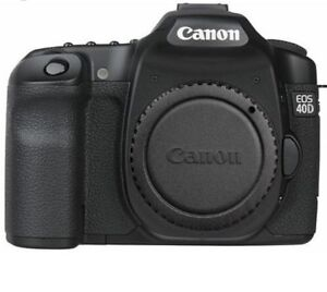 Canon DSLR 40D Camera Body