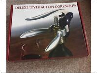 Deluxe Lever-Action Corkscrew