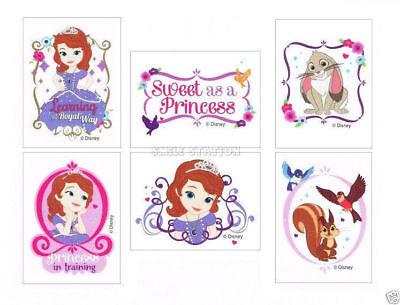 12 Disney Princess Sophia Sofia the First Temporary Tattoo Party Goody Bag Favor](Sofia The First Tattoos)