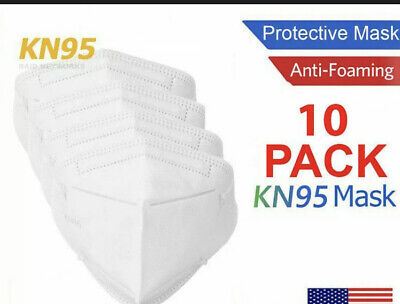 10 Pcs Mascaras Facial Para La Cara Protection Contra Bacterias Mascarillas
