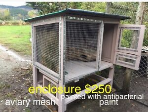 Quail enclosure, bird house broody chicken pen Darnum Baw Baw Area Preview