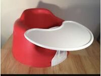 Red Bumbo with Tray (can be detached)
