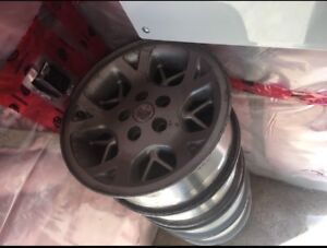 Old Jeep rims