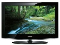 "Samsung 32"" Lcd Full Hd Slimline Tv Built In Freeview Remote & Stand Excellent Condition"