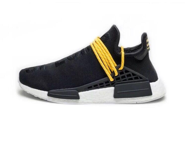 1c46cbf3cd502 Adidas NMD Pharrell Williams Human Race Black - UK 10 - BNIB 100% AUTHENTIC