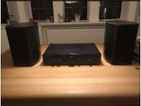 Wharfedale Diamond 9.1 speakers + amp