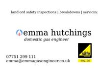 Emma Gas Engineer covering South & West London
