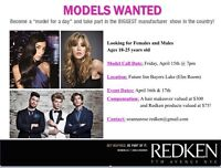 **NEW DATE/TIME** Redken Model Call