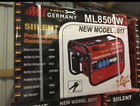 Brand New Mill Germany Silent Professional Generators