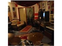 Recording / Rehearsal Studio Available Old St N1 full backline storage etc Rates from £6ph