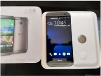 HTC One M8 Gunmetal Grey Immaculate Condition Boxed Unlocked With Charger And Earphones