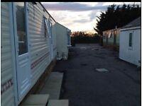 three bedroom static caravan for rent £650 per month