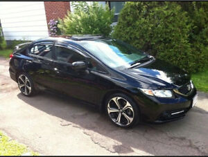 2014 Honda Si 4-door Finance or take over lease