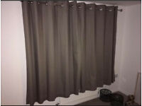 **NEXT CURTAINS GREAT CONDITION ONE YR OLD**