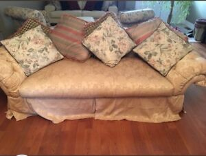 Sofa - Gold  - price negotiable
