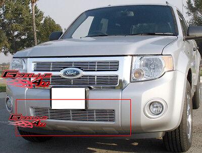 Fits 2008-2011 Ford Escape Lower Bumper Billet Grille Insert Ford Escape Billet Grille