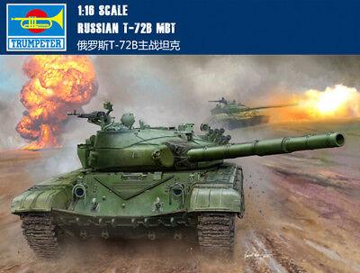 Trumpeter 00924 1/16 Scale Russian T-72B Main Battle Tank Plastic Model Kit