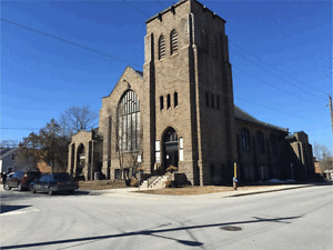 Office Space for lease in beautiful old church in Carleton Place
