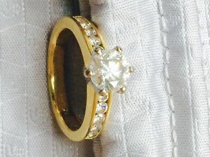 1.1 ct diamond gold engagement ring Boondall Brisbane North East Preview