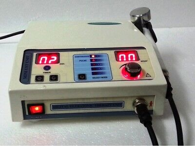 Portable Chiropractic Ultrasound Therapy-1-mhz Deep Heat Tissue Process Machine