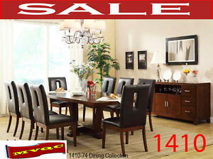 formal dining & dinette sets, accent arm chairs, curios, 1410-74