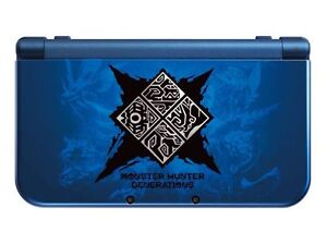 New 3DS XL Monster Hunter Edition + 7 games