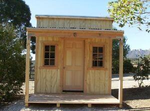 Custom built sheds