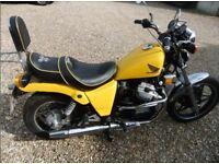 1983 Honda cx650 custom swap