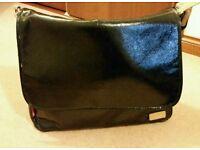 Storksak Dori black baby changing bag