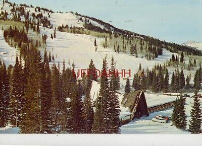 1966 Solitude Ski Lodge  Big Cottonwood Canyon  Utah Wasatch Mountains