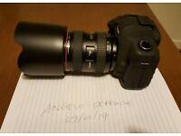 Canon 5D mark 2 with canon 24-70 mark 1 L lens