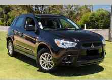 2012 Mitsubishi ASX BLACK, Platinum, Manual Braddon North Canberra Preview