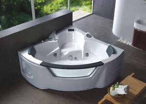 vasca con doccia angolare : VASCHE VASCA IDROMASSAGGIO ANGOLARE BAGNO 150X150 FULL OPTI CON DOCCIA ...