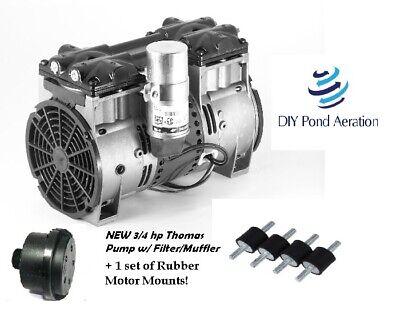 Brand New Thomas 2685pe40 34hp Lake Pond Aerator Aeration Compressor W Mounts