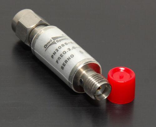 2 dB Coaxial Attenuator Omni-Spectra 2085-6014 DC-4 GHz 2 W SMA (m) - (f)