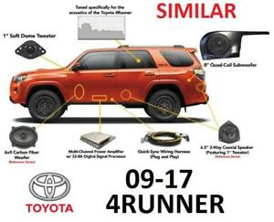 NEW 09-17 4RUNNER SOUND SYSTEM REFERENCE 500Q 194125858 TOYOTA SPEAKER SYSTEM REPLACEMENT W/O WARRANTY VOID
