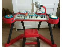 Children's Electric Organ (with drum simulator and music jack)