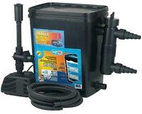 Filtro Stagno Da Giardino Per Fino A 5000 Litro M. Pompa + 11 Watt Uvc -  - ebay.it