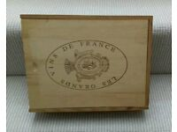 Wooden Wine box / crate