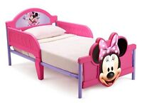 BRAND NEW Minnie Mouse 3D Toddler Bed