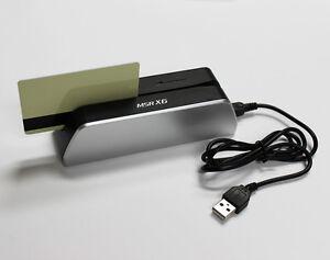 MSR X6 Smallest Magnetic Stripe Card Reader Writer Encoder Credit Mini MSR206
