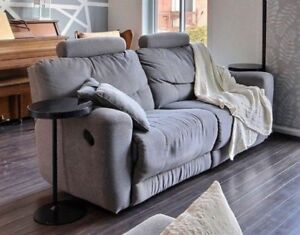 Sofa divan 2 places de type lazyboy