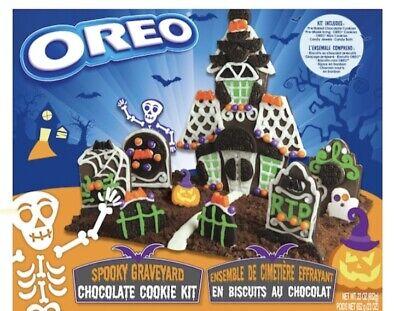 NEW OREO Halloween Spooky Graveyard ☠️Chocolate Cookie Kit