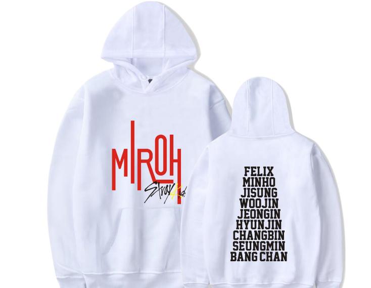 Kpop Stray Kids Girls Kapuzenpullover Boys Hoodie Unisex Sweatshirts Sweater New