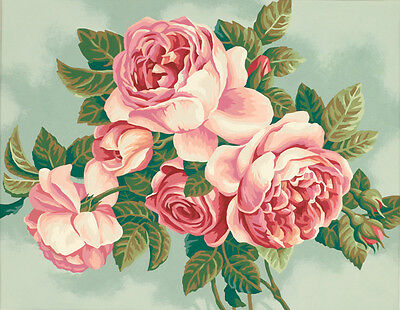 Dimensions 91299 Heirloom Roses Rosen Malen Nach Zahlen