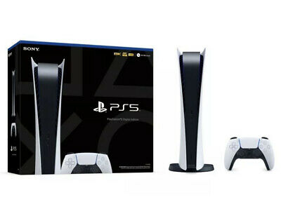 Sony Playstation 5 (PS5) DIGITAL EDITION console - Factory Sealed - In Hand -
