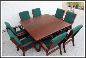 10 pce Kwila outdoor dining table and chairs   setting. Brisbane City Brisbane North West Preview