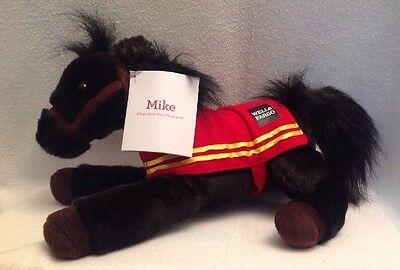 WELLS FARGO NWT Legendary 2016 Pony Horse Plush Stuffed Animal MIKE NEW