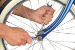 How to Tighten Bicycle Spokes